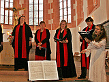 Konzert Jalda Rebling und Voces Feminarum,  Ltg. Bettina Strübel, in Büdingen